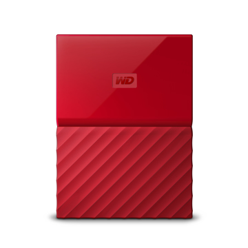 Picture of Western Digital  my passport 1TB  Red