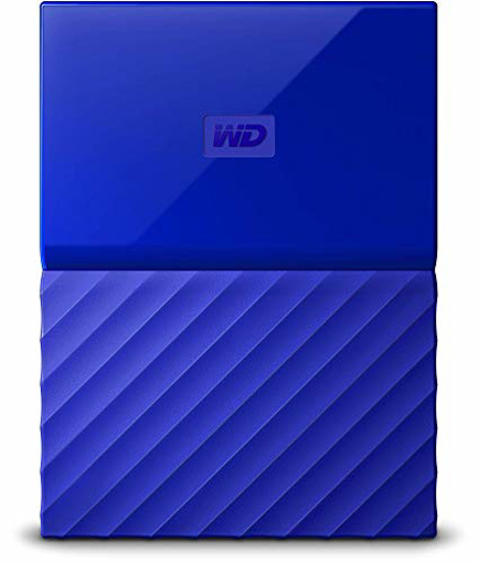 Picture of Western Digital   my passport 2TB Blue