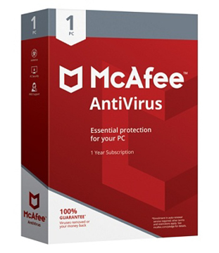 Picture of MCafee Antivirus (1 USER)