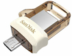 Picture of SanDisk  ULTRA DUAL DRIVE 32GB SDDD3 (gold)