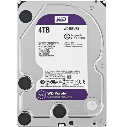 Picture of Western Digital  PC 4TB Purple