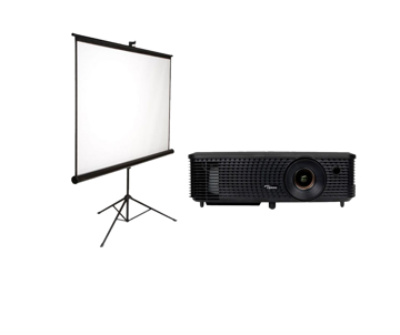 Picture of OPTOMA  S331 + Tripod screen 180*180