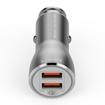 LDNIO C407Q 2 USB Port Phone Car Charger Support