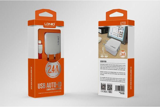 LDNIO-Home Charge- 2USB 2.4A - A2201