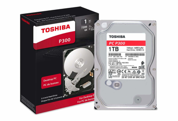 Toshiba 1TB Desktop 7200rpm PC Hard Drive