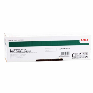 Oki B412 B432 B512 Mb472 Mb492 Mb562 Toner Cartridge