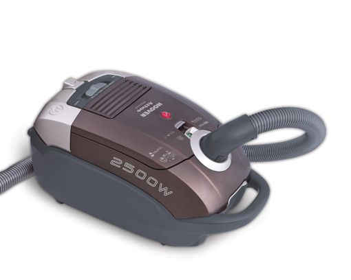 Picture of HOOVER Vacuum Cleaner 2500 Watt In Brown Color With HEPA Filter TAT2520020