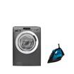 Picture of Bundle : ( HOOVER Washing Machine 8 Kg DXOA38AC3R-ELA ) + ( TORNADO Steam Iron TST-2200 )