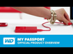Picture of Western Digital my passport 4TB RED