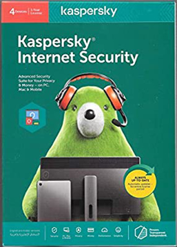Picture of KasperSky Internet Security 4 users + 4 license ( 4+4 )