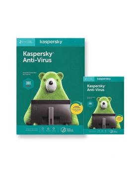 Picture of Kaspersky Anti Virus  2USER